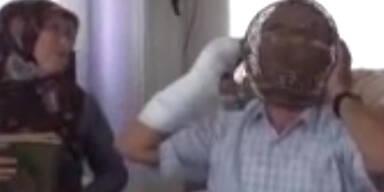Türke baut Kopf-Käfig um nicht zu rauchen
