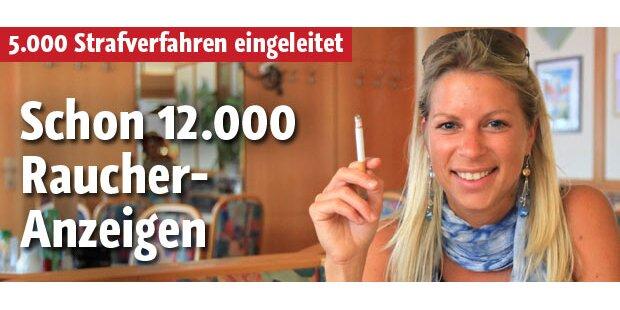 Schon 12.000 Raucher-Anzeigen