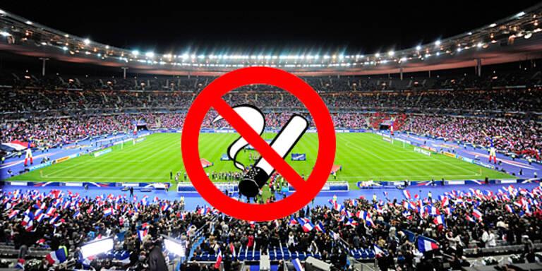 Totales Rauchverbot in EM-Stadien