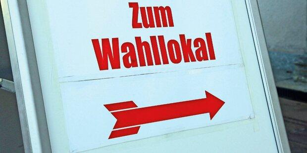 ÖVP liegt klar vor SPÖ und FPÖ