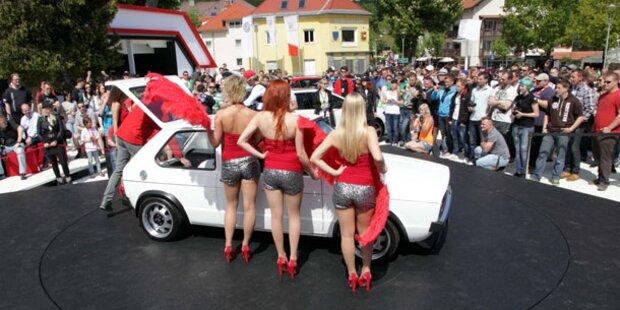 GTI-Fans stürmen Kärnten