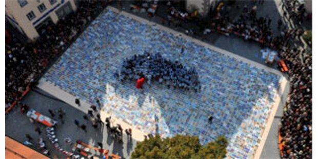 Größtes Puzzles der Welt hat 1,1 Millionen Teile