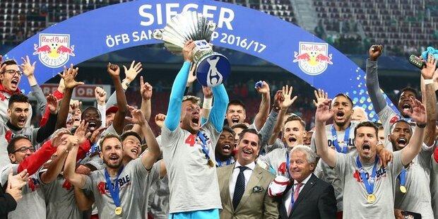 Red Bull Salzburg schreibt Geschichte