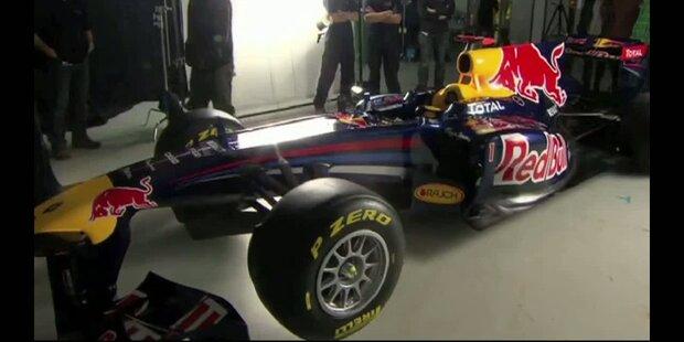 Red Bull: der RB7 trägt die