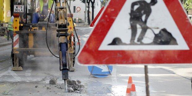 Rohrbruch: Donaufelder Straße gesperrt