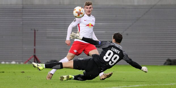 EL: RB Leipzig auf Viertelfinal-Kurs