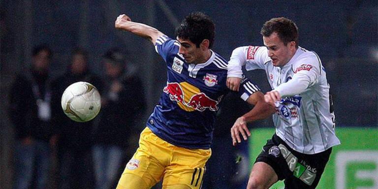 Zehn Grazer retten Sieg gegen Salzburg