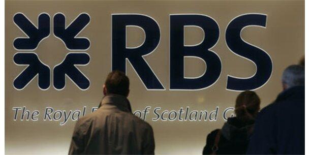 RBS macht größten Verlust britischer Geschichte