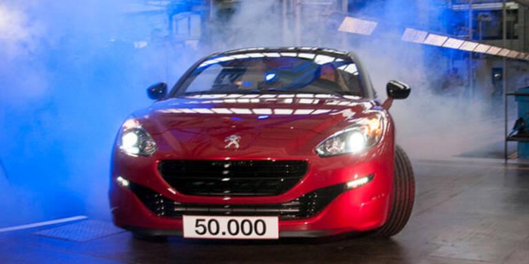 Jubiläum: 50.000ster RCZ in Graz gebaut
