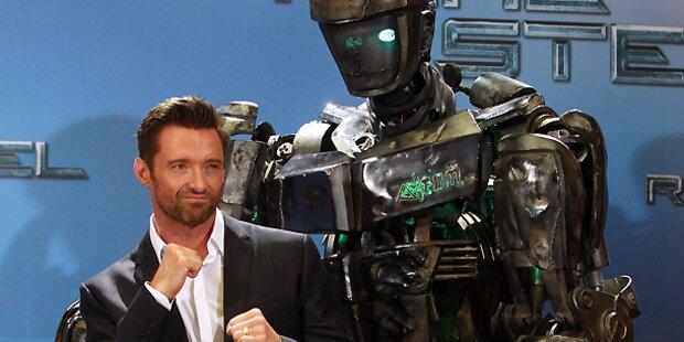 Stahlroboter kämpft sich an US-Kinospitze