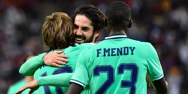 Real klarer Sieger im Supercup-Halbfinale