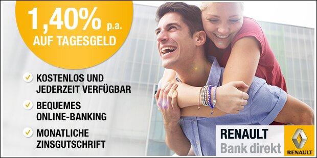 Renault Bank Anzeige
