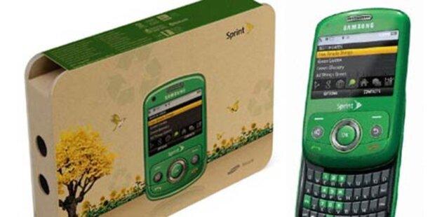 Biologisch abbaubares Handy vorgestellt