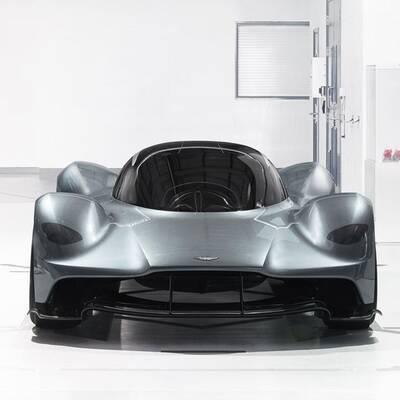 Supersportler von Aston Martin und Red Bull