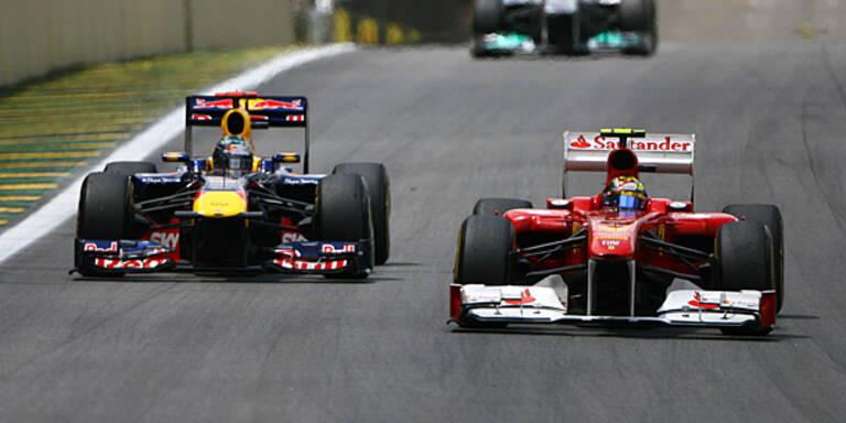 Keine Extra-Tests für Red Bull und Ferrari