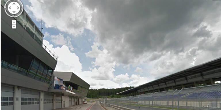 Red Bull Ring in Spielberg virtuell erkunden