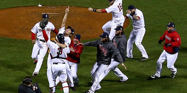 Boston Red Sox gewinnen World Series