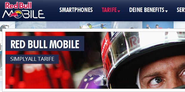 Red Bull Mobile bringt neuen Tarif