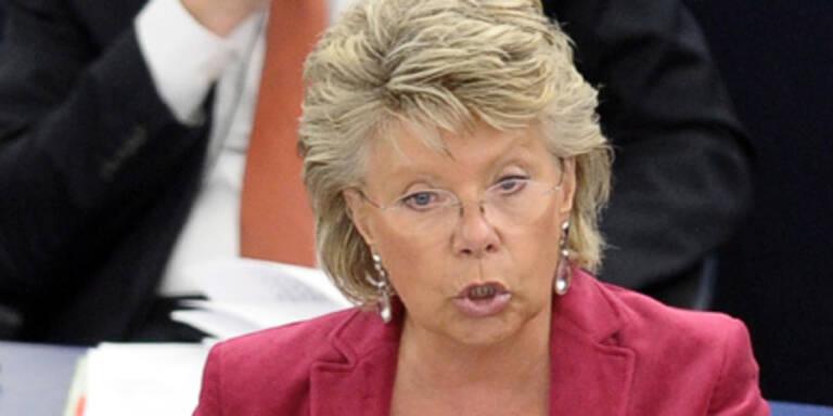 EU-Kommissarin Reding rügt Österreich