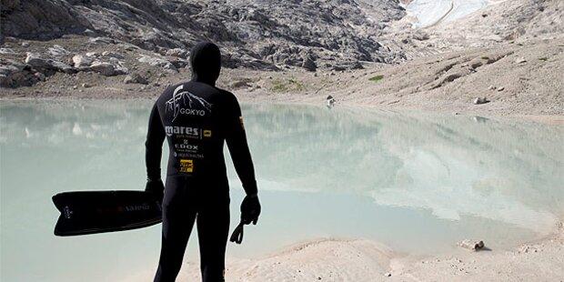 Österreicher schafft Tauch-Weltrekord