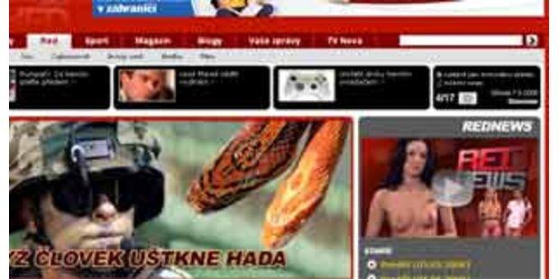 Aufregung wegen nackten Nachrichten in Tschechien