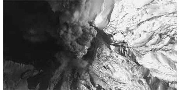 Vulkan in Alaska wieder aktiv