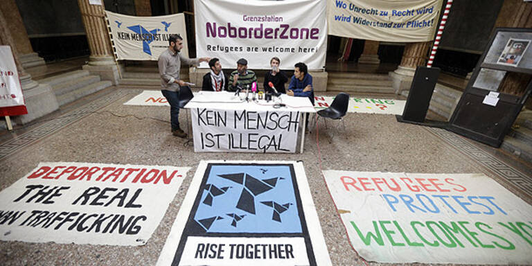 Flüchtlinge bleiben in Kunst-Uni