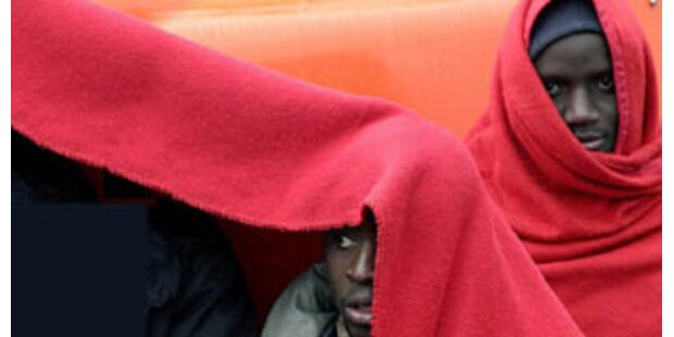 126 Flüchtlinge vor Spanien aufgegriffen