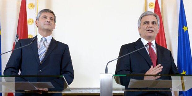 Neue Koalition in Österreich