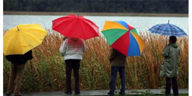Verlängertes Wochenende wird regnerisch
