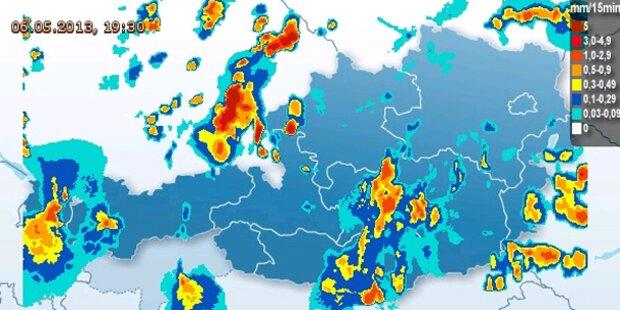 Gewitter-Warnung für Ostösterreich