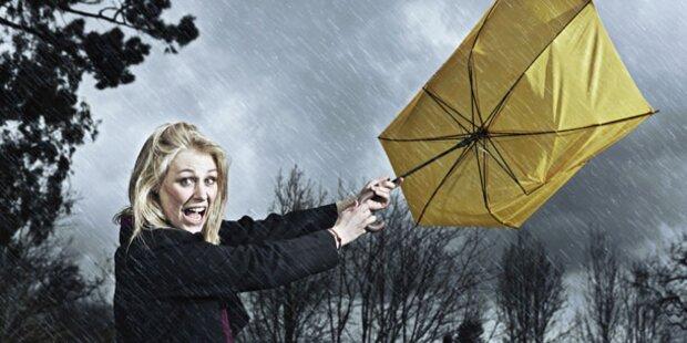 Dauer-Regen schürt Angst vor Flutwelle
