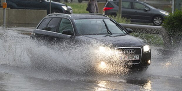 Wien: 100 Liter Regen kommen heute