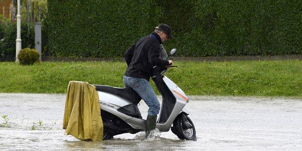 Wo es am meisten regnet