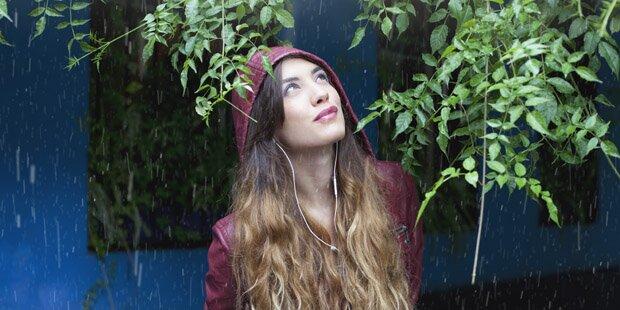Schon wieder ist Regen im Anmarsch