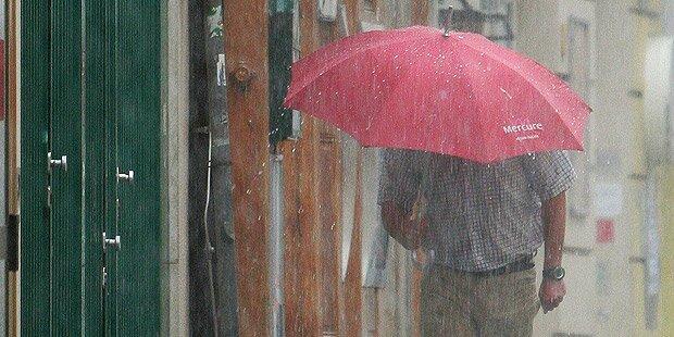 Kaltfront bringt Unwetter und Schnee
