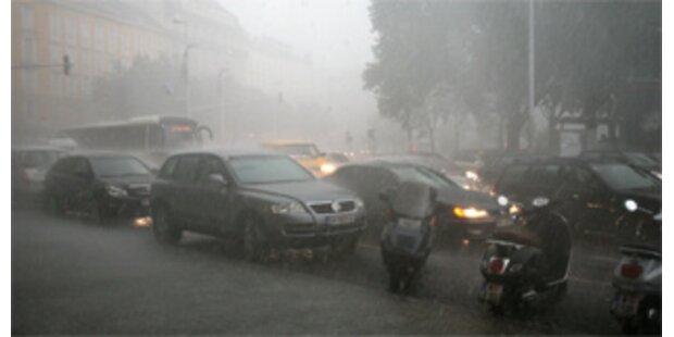 Kärnten versinkt im Regen