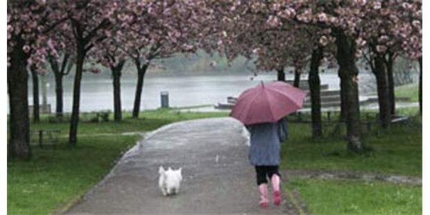 Wechselhafte Woche mit viel Regen