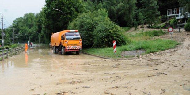 Vorarlberg: 1 Mio. Schaden durch Regen
