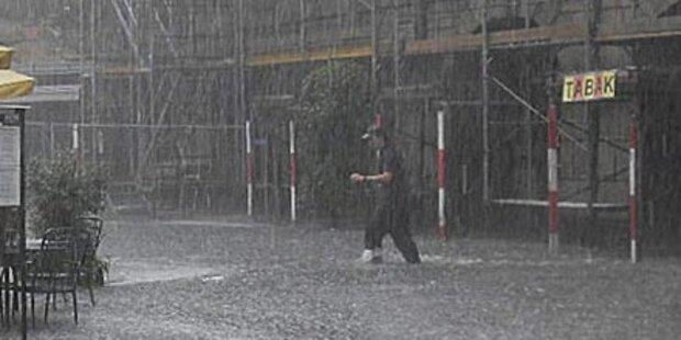 Sintflutartige Regenfälle in Tirol