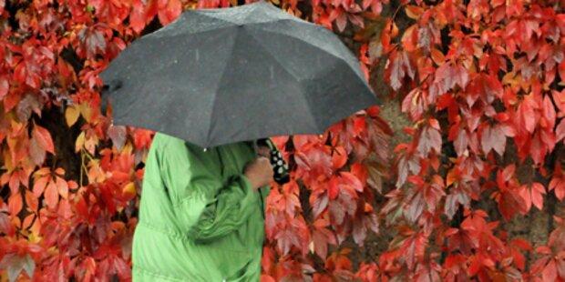 Herbst zeigt sich von ungemütlicher Seite