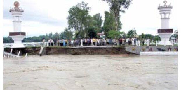 Mindestens 25 Tote nach Monsun-Regen in Indien