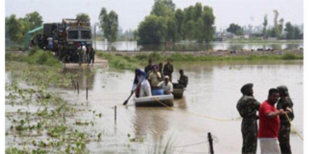 Mindestens 85 Tote bei Überschwemmungen in Indien