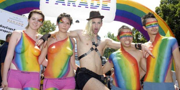 So schrill war die Regenbogenparade
