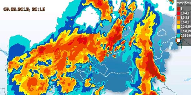Das Erste Regenradar