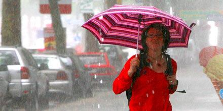 Tief Karin bringt Regen