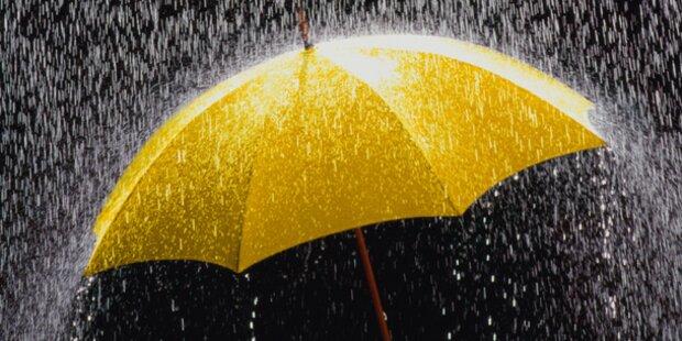 Starkregen: Überschwemmungen im Zillertal