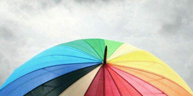 Regenschirmalarm am Samstag und Sonntag