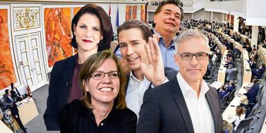 Türkis-Grün: Wer Minister werden soll
