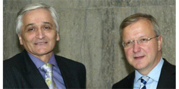 Bosnien unterzeichnete Abkommen über EU-Annäherung